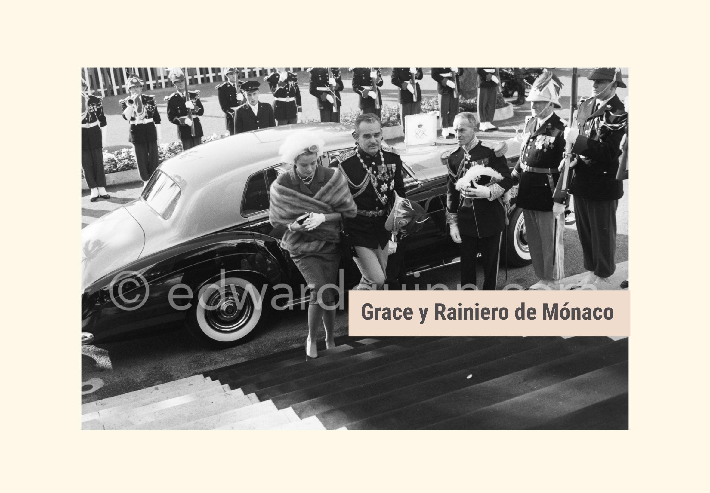 Grace y Rainiero de Mónaco