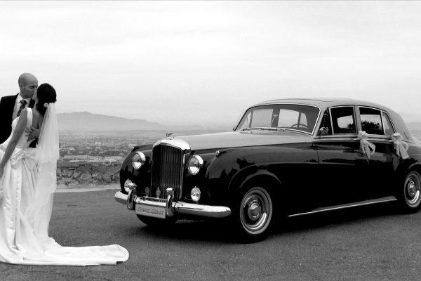Rolls Royce Bentley Silver Cloud II Dorado y Negro